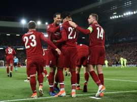 Reds explain the corner that eliminated Barça. AFP