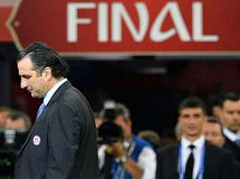 Pizzi was proud of his team's efforts in the Confederations Cup final. AFP