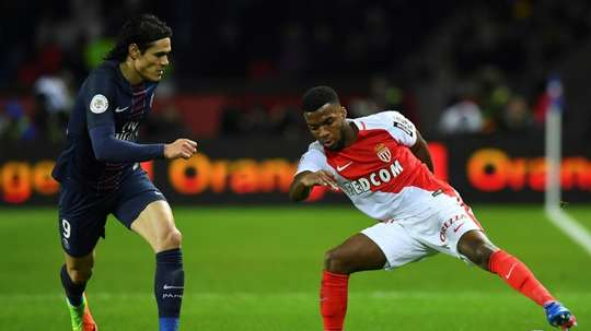 PSG-Monaco na final da Taça da Liga. AFP