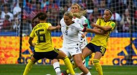 Asllani suena para jugar en España. AFP