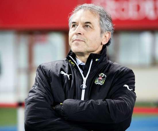 Koller devient entraîneur. AFP