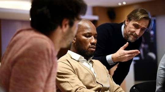 Drogba s'exprime sur la CAN. AFP