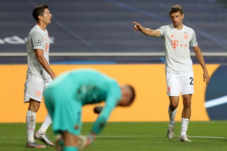 Thomas Müller celebra un tanto