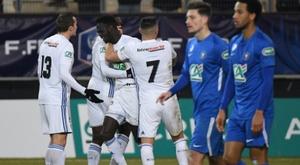 Les Strasbourgeois vainqueurs de Grenoble au Stade iront défier Paris. AFP