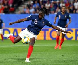 Asseyi titulaire contre le Brésil, Thiney remplaçante. AFP