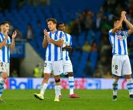 La Real Sociedad en finale de Coupe du Roi. AFP