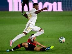 Au Real, Vinicius a gagné ses galons. AFP