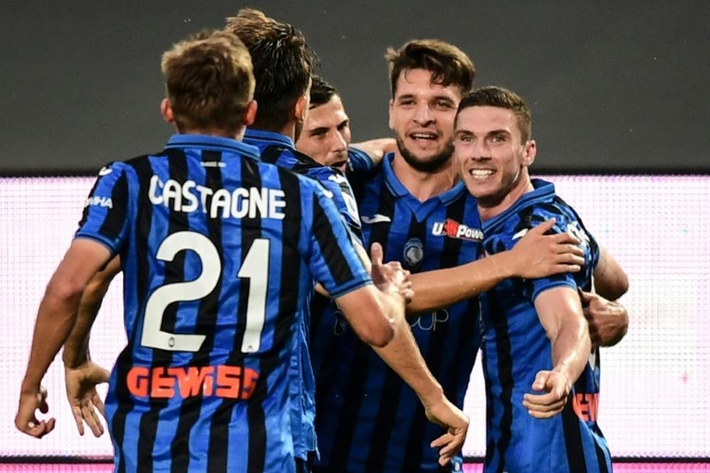 El Atalanta recibe en su feudo a la Sampdoria. AFP