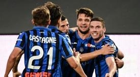 L'Atalanta se rapproche de l'Inter Milan. AFP