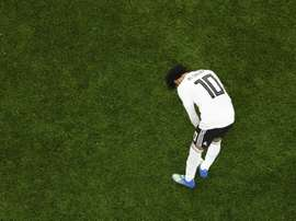 Salah's side fell to a 3-1 defeat. AFP