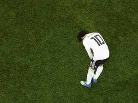 Salah et l'Égypte aux portes de l'élimination. AFP