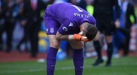 Norwich pourrait aller chercher Butland en janvier. AFP