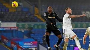 Leeds chute à domicile contre West Ham. AFP