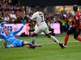 Les compos probables du match de Ligue 1 entre le PSG et Guingamp. AFP