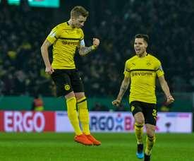 Marco Reus s'est de nouveau blessé en Coupe d'Allemagne. AFP