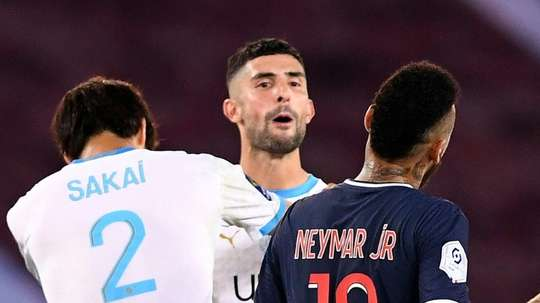 Alvaro à propos de Neymar. AFP