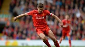 A pior lesão de Gerrard: corte no pênis. AFP