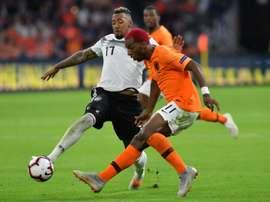Boateng n'est pas sélectionné avec la Mannschaft. AFP