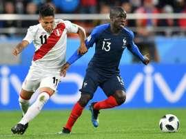 Tras el Mundial, Ruidíaz tendrá su estreno en la MLS. AFP