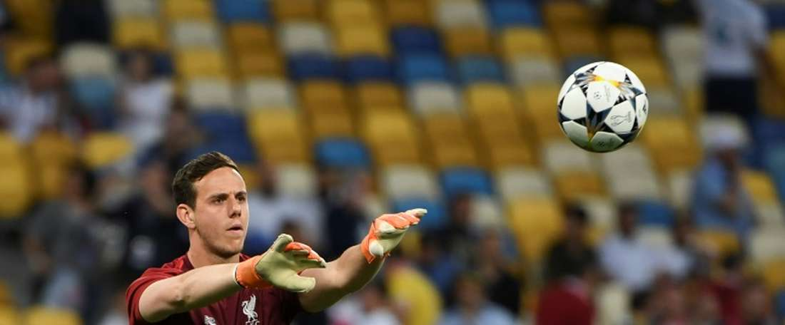 Danny Ward wants to become Leicester's number one. AFP