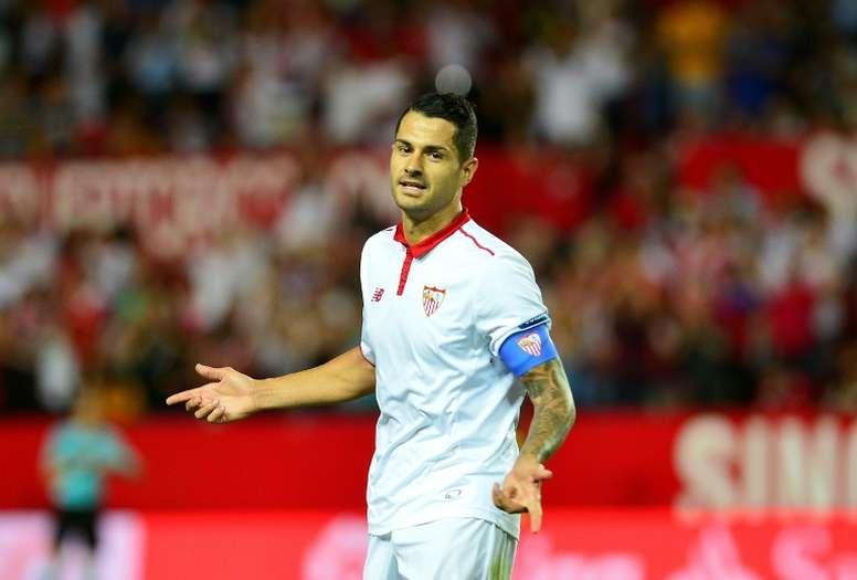Vitolo se incorporará al Atlético de Madrid en los próximos días. AFP