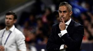 Sylvinho vem de péssimos resultados. AFP