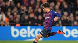 Coutinho pourrait retrouver un poste de milieu relayeur au Barça. AFP