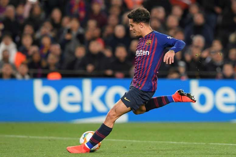 Coutinho did not go to Tottenham because of Barça's requirements. AFP