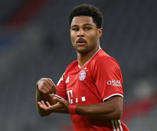 Gnabry da positivo en COVID-19; el Bayern-Atlético, en peligro. AFP
