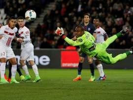 Lille chegou a três vitórias consecutivas. AFP
