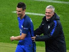 Le sélectionneur de la France Didier Deschamps. AFP