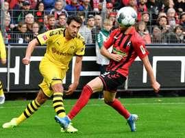 La résurrection de Mats Hummels à Dortmund. AFP