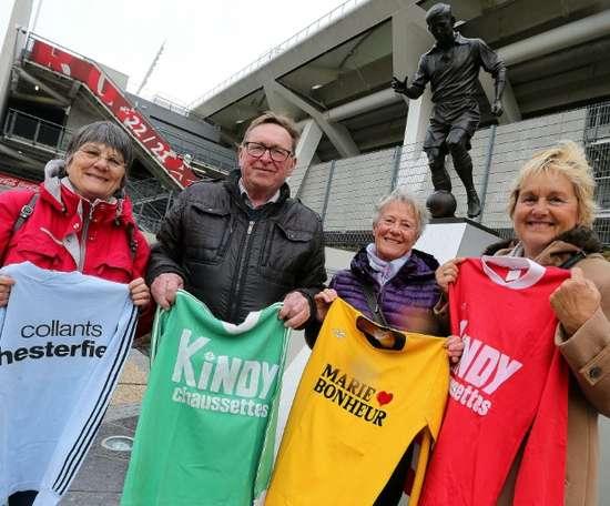 L'aventure qui a lancé le foot féminin en France. AFP
