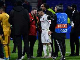 Tensions entre Marcelo et les ultras lyonnais après la rencontre. AFP