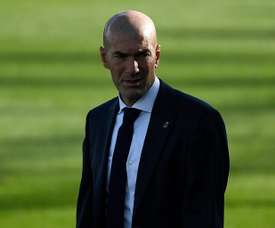 Zinedine Zidane does not use all of his changes. AFP
