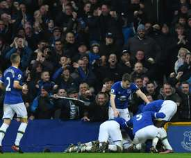 Everton cruised to victory at Goodison Park. AFP