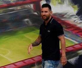 France blame Messi for Icardi's bad reception at PSG. AFP