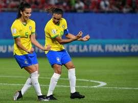 Le Brésil, nom prestigieux mais adversaire prenable. AFP