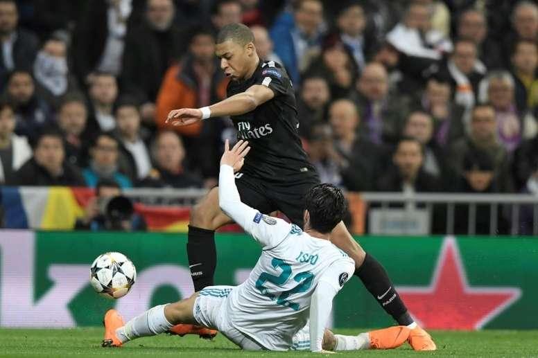 Mbappé, possible objectif madrilène. AFP