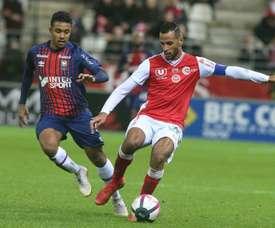 Romao prolonge à Reims jusqu'en 2021. AFP