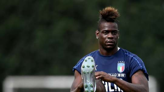 Balotelli is still wanted by Parma. AFP