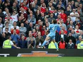 El centrocampista espera quedarse en la disciplina del Stoke. AFP