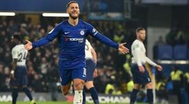 Hazard joined Chelsea in 2012. AFP