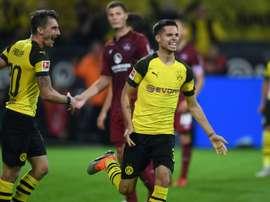 Weigl est sous contrat avec Dortmund jusqu'en juin 2021. AFP