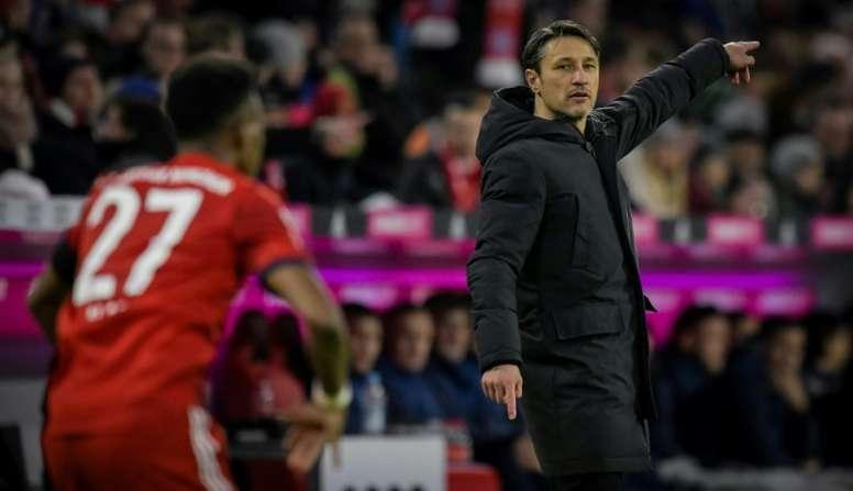 Niko Kovac lors de la réception de Schalke. AFP