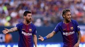 Laporta sur l'actualité barcelonaise. AFP