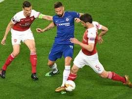 Les compos probables du match de FA Cup entre Arsenal et Chelsea. AFP