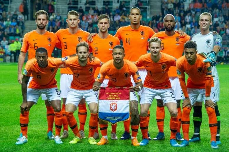 Tout sauf l'impasse de trois pour les Pays-Bas. AFP