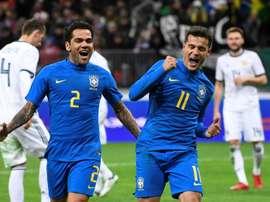 Les Sud-Américains se sont imposés contre les Européens au cours de cette journée d'amicaux. AFP