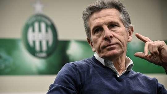 Claude Puel se plaint de la situation liée à la Covid-19. AFP